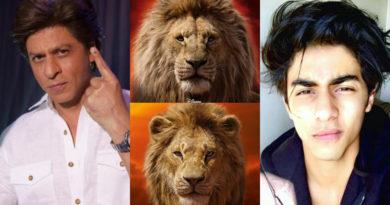 The Lion King में शाह रुख़ संग सुनाई देगी बेटे आर्यन की आवाज़, किंग ख़ान ने खोला एक राज़…